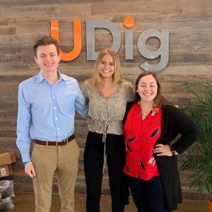 UDig Interns Join for Summer Internship Program